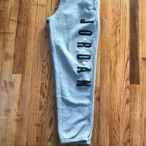 Air Jordan EUC gray sweatpants